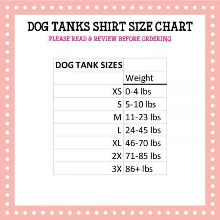 Pressed4Fun_Dog Tanks Size Chart