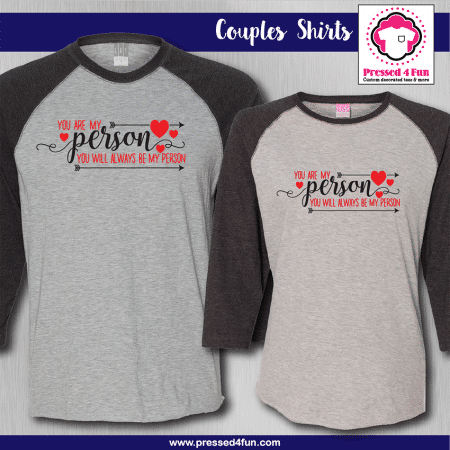 You Are My Person Shirts - Raglans