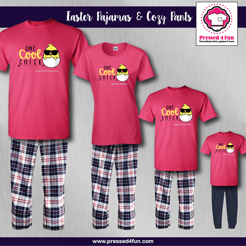 Cool Chick Pajamas - Short Sleeve