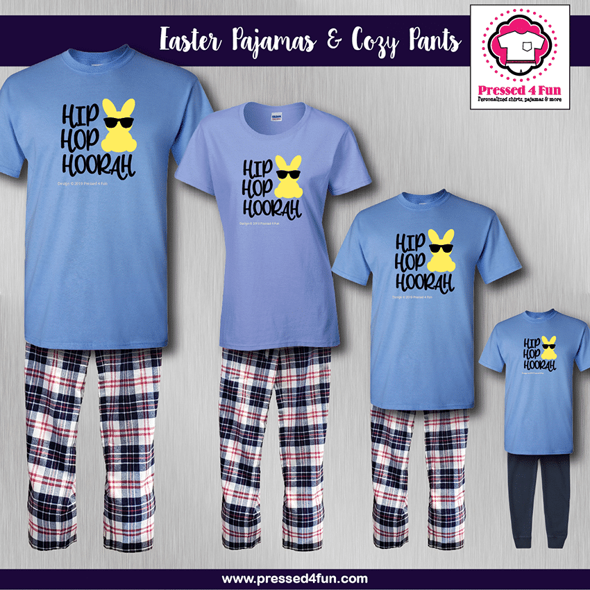 Hip Hop Pajamas - Short Sleeve