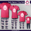 Here for the Hunt Pajamas - Short Sleeve Pink