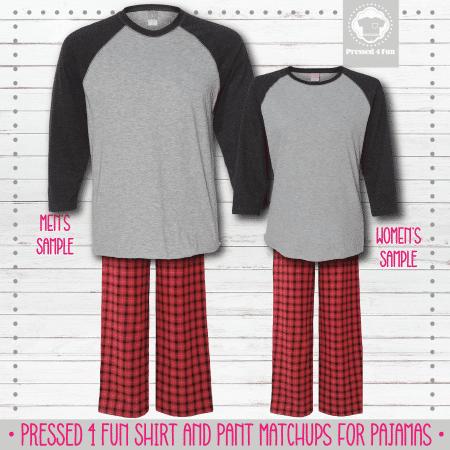 Mockups Pants Setup Dark Grey Grey Red Black