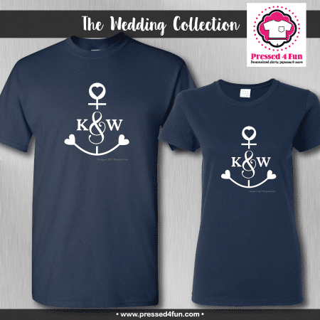 Anchor Initial Shirts - Short Sleeve
