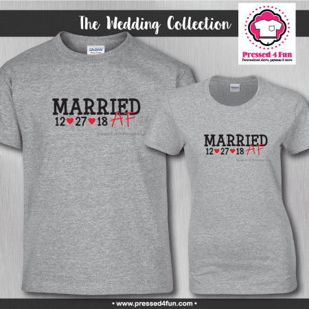 Married AF Shirts - Short Sleeve