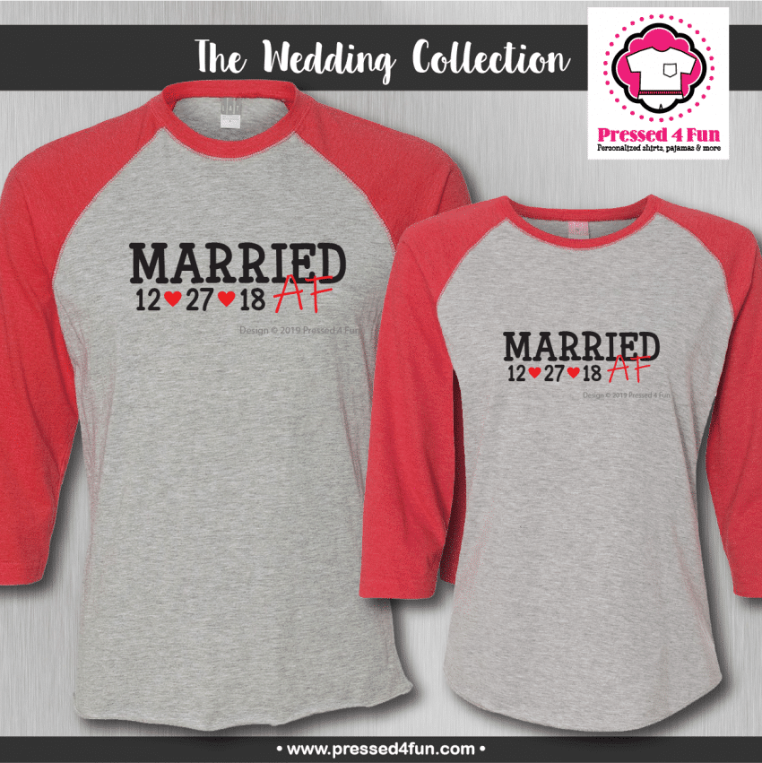Married AF Shirts - Raglans