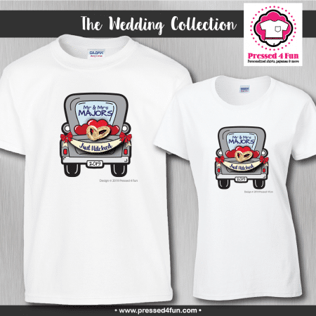 Wedding Truck Shirts - Short Sleeve