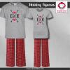 Arrow Heart Pajamas - Short Sleeve