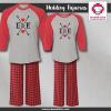 Arrow Heart Pajamas - Raglans