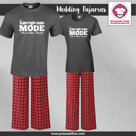 Honeymoon Pajamas - Short Sleeve