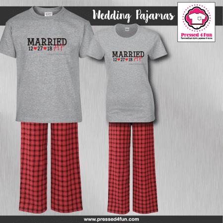 Married AF Pajamas - Short Sleeve