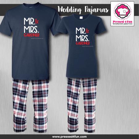 Mr & Mrs Pajamas - Short Sleeve