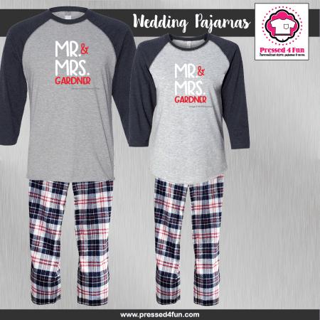 Mr & Mrs Pajamas - Raglans