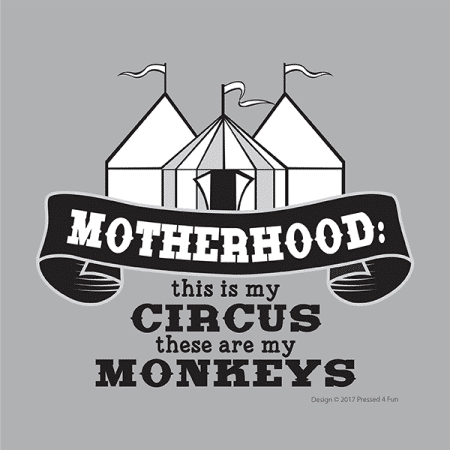 Motherhood Circus Shirts Design