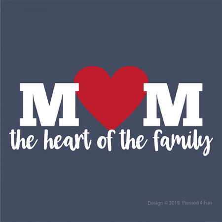 Heart of the Family Shirts Designs