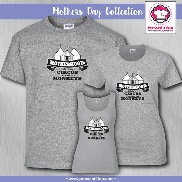 Motherhood Circus Shirts - Mother's Day Gift