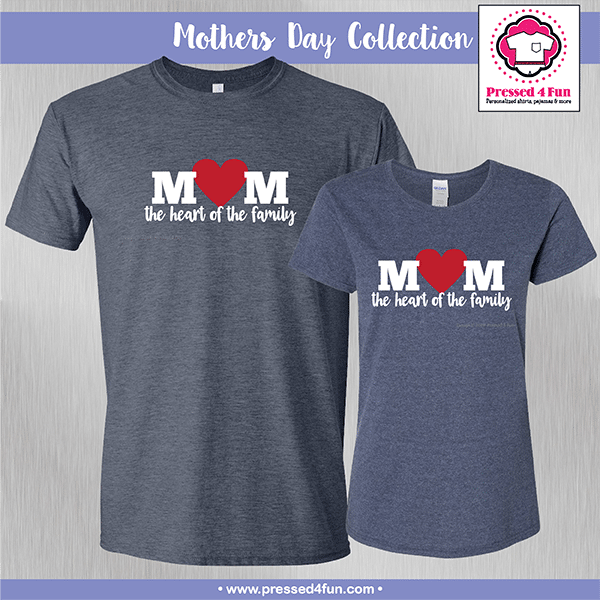 Heart of the Family Shirts - Mother's Day