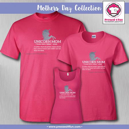 Unicorn Mom Shirts - Mother's Day