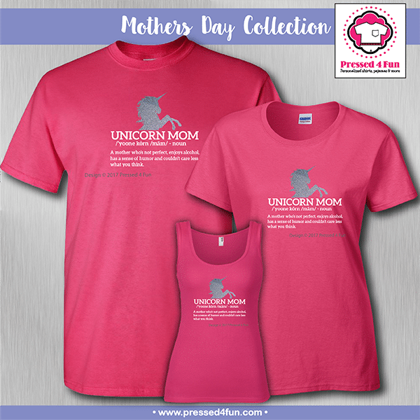 Unicorn Mom Shirts - Mother's Day