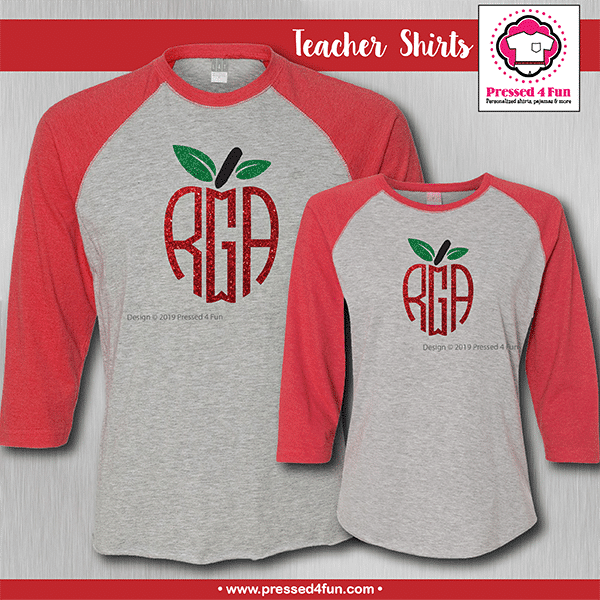 Monogram Apple Shirts - Raglans