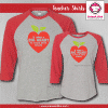 Big Heart Shirts - Raglans