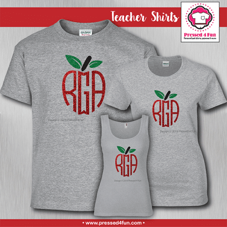 Monogram Apple Shirts