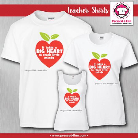 Big Heart Shirts