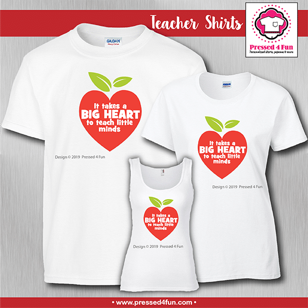 Big Heart Shirts