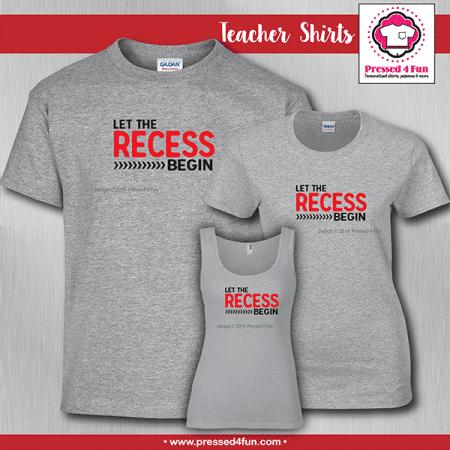 Recess Shirts