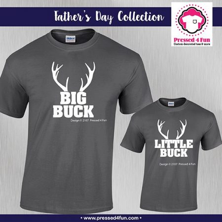 Big Buck and Little Buck Shirts