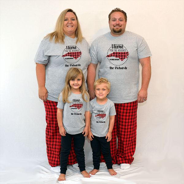 Home for the Holidays Pajamas