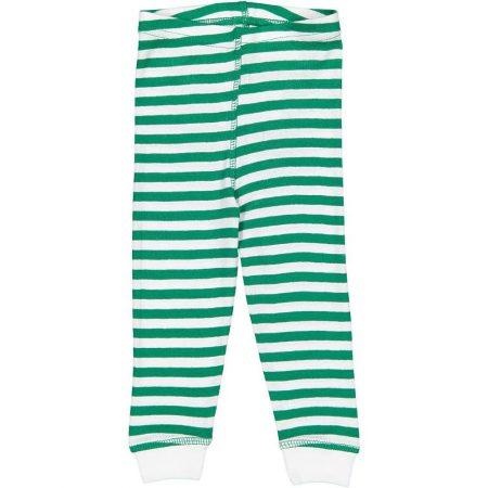 Infant Toddler & Youth Kelly Green White Stripe Jogger Pajama Pants