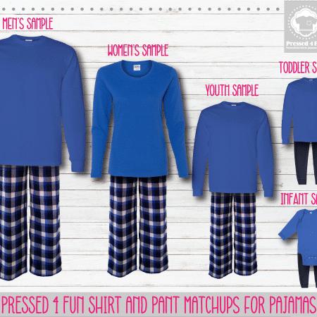 Pants Setup Royal Blue LS