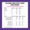 Pressed4Fun Pajama Cozy Pants Size Chart-rev