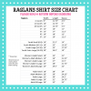 Pressed4Fun Raglans Size Chart