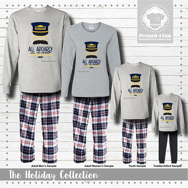 All Aboard Pajamas - Long Sleeve