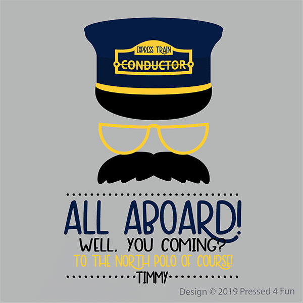 All Aboard Shirts Design
