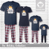 Friends In Snow Places Pajamas - Short Sleeve