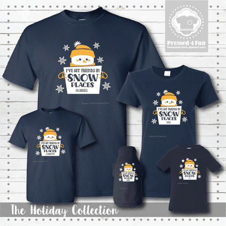 Friends in Snow Places Shirts