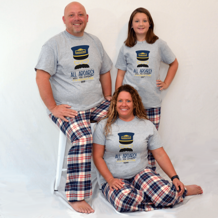 All Aboard Pajamas - Short Sleeve