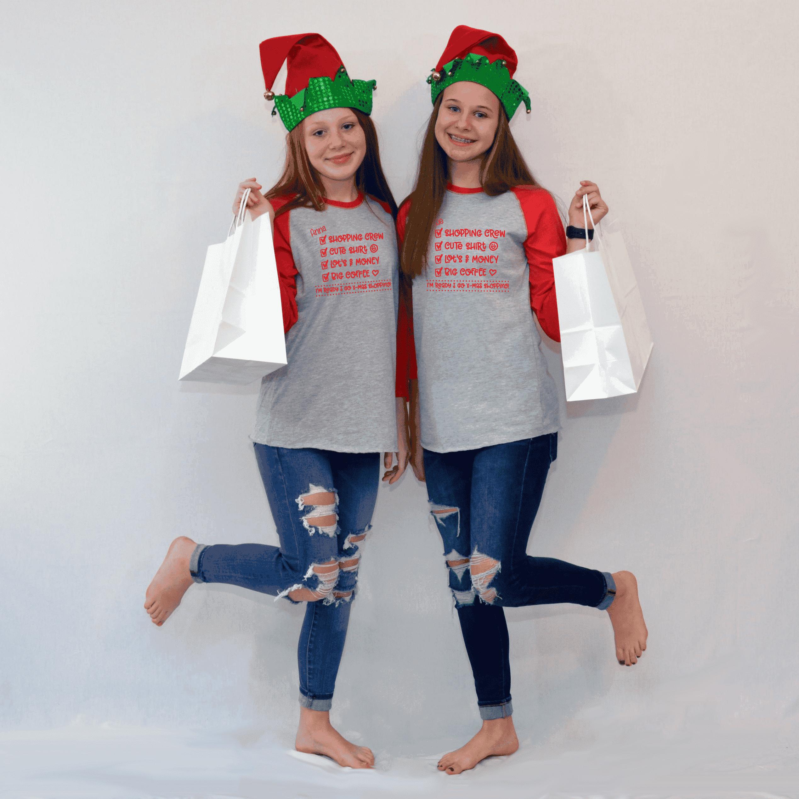 Holiday Shopping Shirts