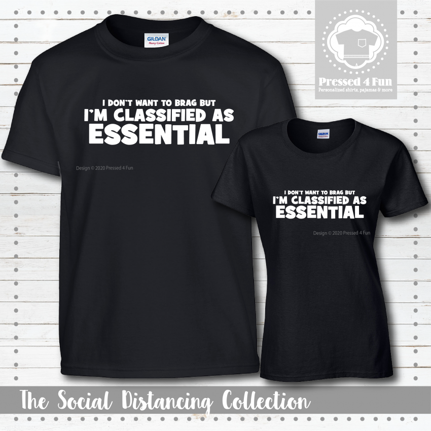 Classified As Essential Shirts Short Sleeve