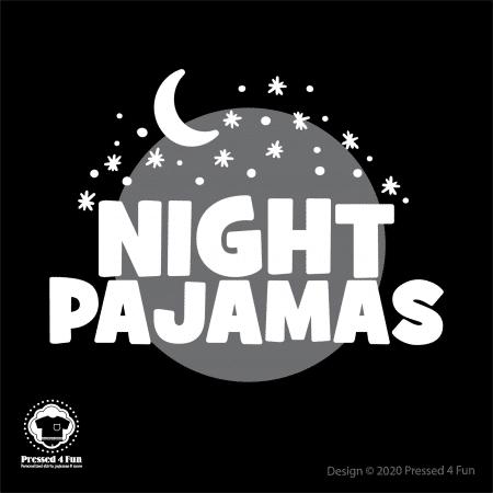 Night Pajamas Shirts Design