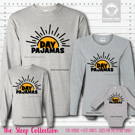 Day Pajamas Shirts Long Sleeve