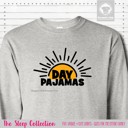 Day Pajamas Shirts Long Sleeve Single
