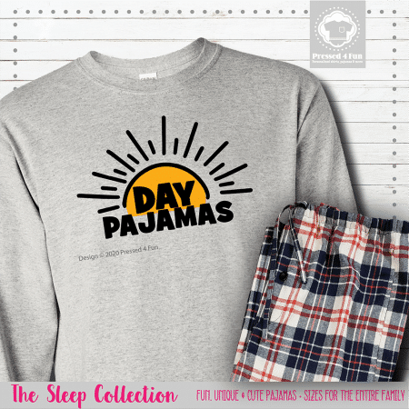 Day Pajamas Long Sleeve Single