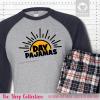 Day Pajamas Raglans Single