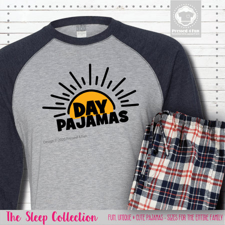 Day Pajamas Raglans Single