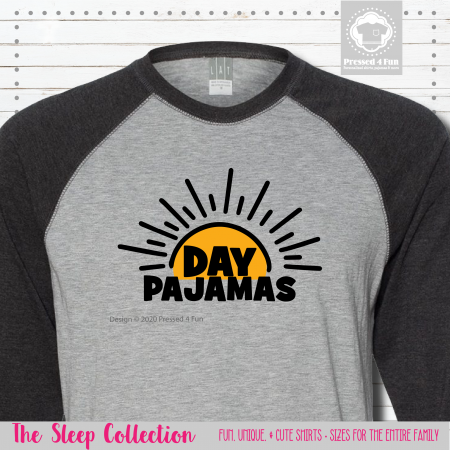 Day Pajamas Shirts Raglans Single
