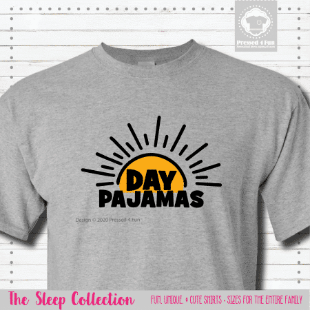 Day Pajamas Shirts Short Sleeve Single