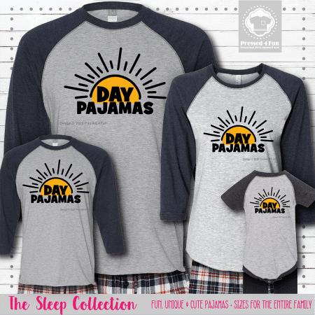 Day Pajamas Raglans